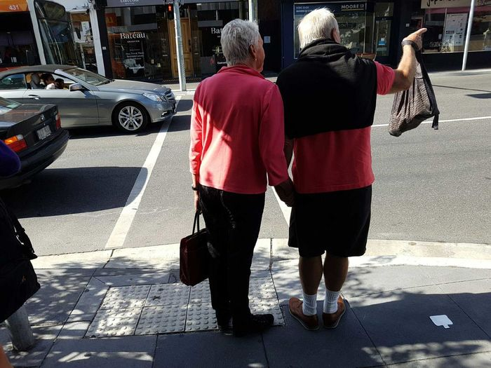 Rear View Two People Real People Samsung Galaxy S7 Outdoors People Adult Samsung S7 Togetherness Couple Couples Relationship Couple In Love Teamwork Tourists Couples In Love Couple Cuteness Man And Woman Matchingshirts Matching Shirts! Matchingcolors Matching Coupleselfie Couplesweekend Coupletravels This Is Masculinity