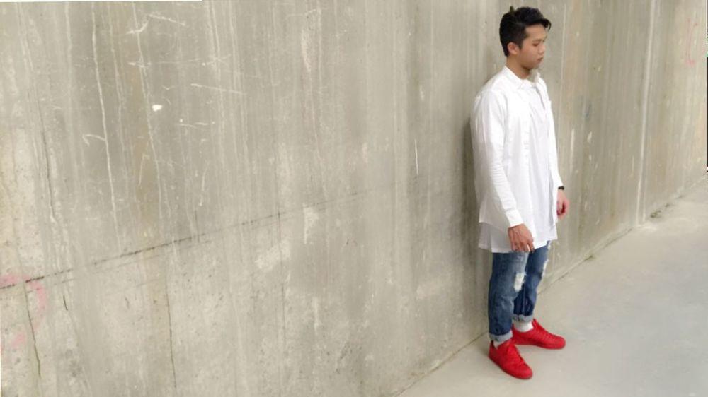 Hanging Out Citysquaremall Street Style Hnm Street Fashion Redshoes Adidas