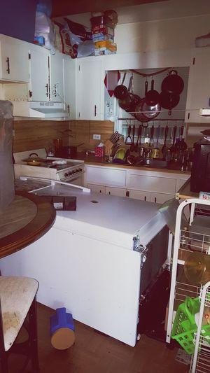 Domestic Kitchen Kitchen Indoors  Home Interior Cabinet Hurricane Irma 2017 Hurricane Damage Refridgerator Water Damage Displaced