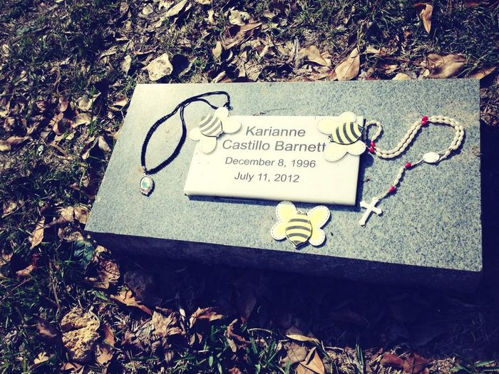 Finally got the chance to visit her ❤ Rest in Paradise baby. I'll see you soon..