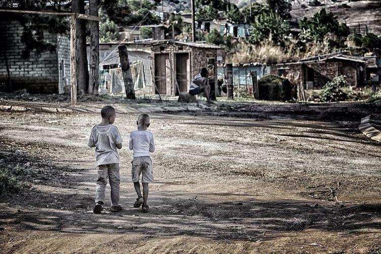 Taking Photos Traveling Kids Africa