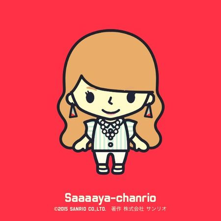 Chanrio. Check This Out Hello World That's Me Chanrio Lady