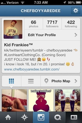 follow me on INSTAGRAM @chefboyyaredee & i'll shout you out!