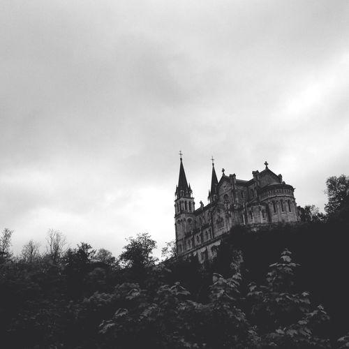 Covadonga monastery, Asturias, Spain.