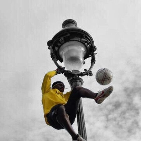 Balance Close Up Composition Football France Front View Fun Hobbies Lifestyles Negative Space RISK Sport Trick  Tricks Photography In Motion UrbanSpringFever