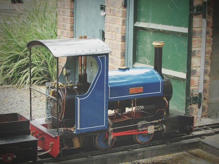 Old-fashioned Retro Styled Transportation No People Day Outdoors Steamengine Steam Engine Model Steam Train Rail Train Model Train Ride