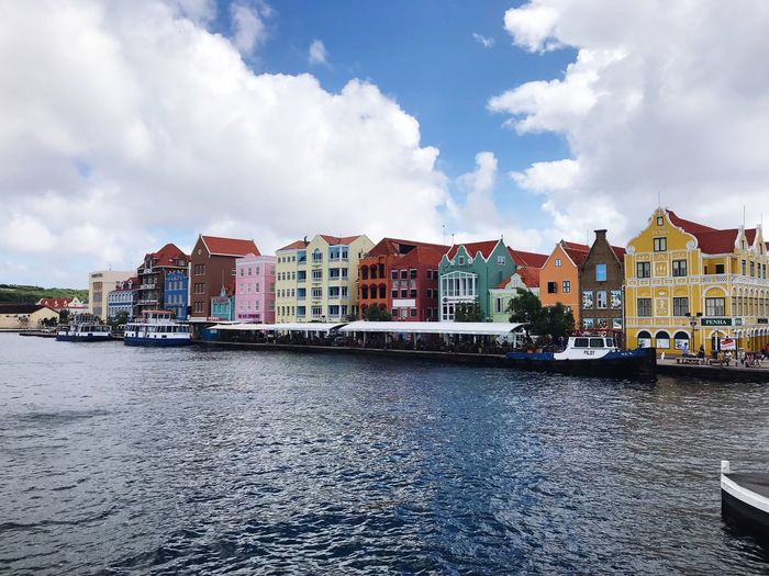 Dutch Colonial Buildings Colourful Buildings Colourful Houses Carribean Ferry Terminal River Colourful Curacao Willemstad Colonial Colonial Architecture Colonial Houses Coloured Houses Dutch Houses Built Structure Architecture Building Exterior Sky Cloud - Sky City Water Building Day Waterfront Transportation Outdoors No People Residential District Street