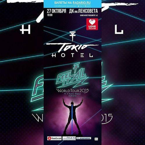 TokioHotel In Russia ❤❤❤❤❤❤❤ Санктпетрбург27октября Tokiohotelinrussia Feelitallworldtourpart4