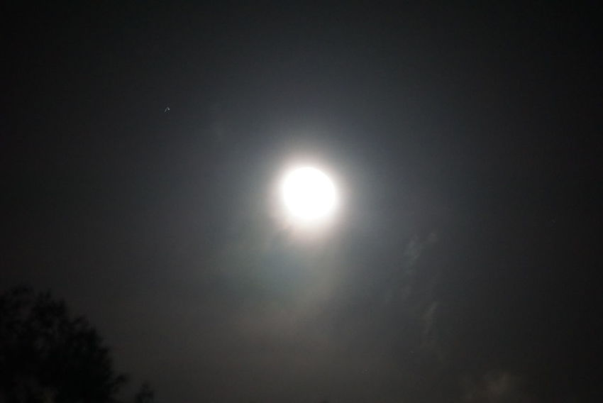 The Moon Tonight The Night View