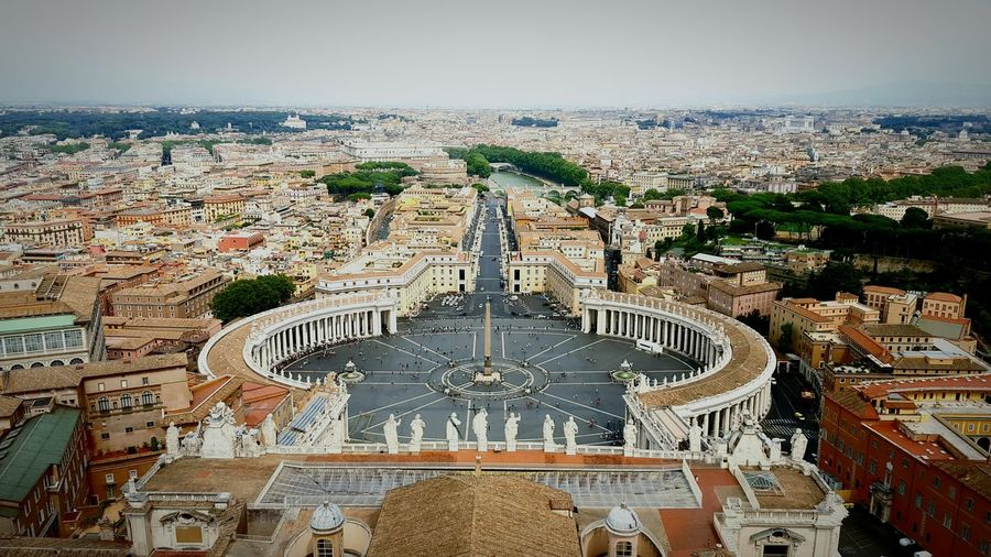 Vatican Vatikan St. Peters Cathedral Rome Italy Italy Overview Rome Square