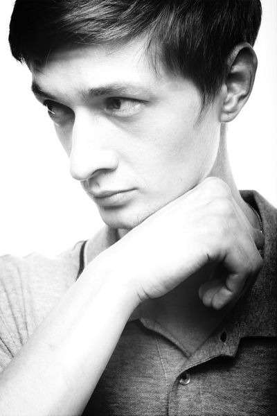 Black And White Photography Fashion Model Boy