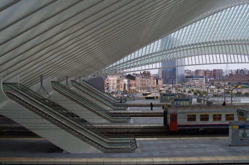 Escalators Gare