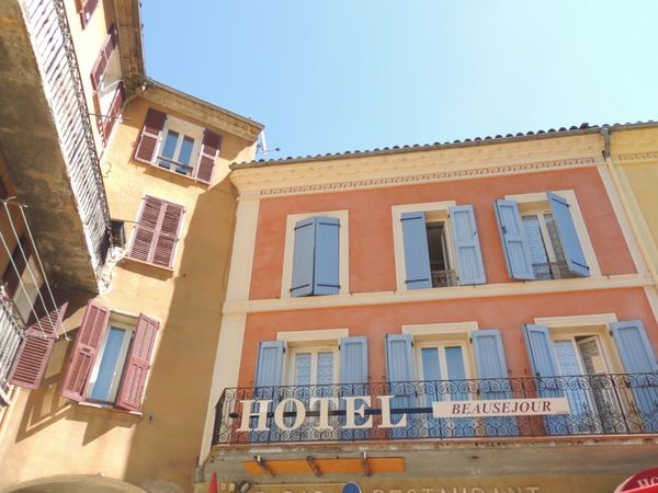 Architecture Blue Building Building Exterior Built Structure City Clear Sky Day Low Angle View No People Outdoors Provence Residential Building Residential Structure Sky Window