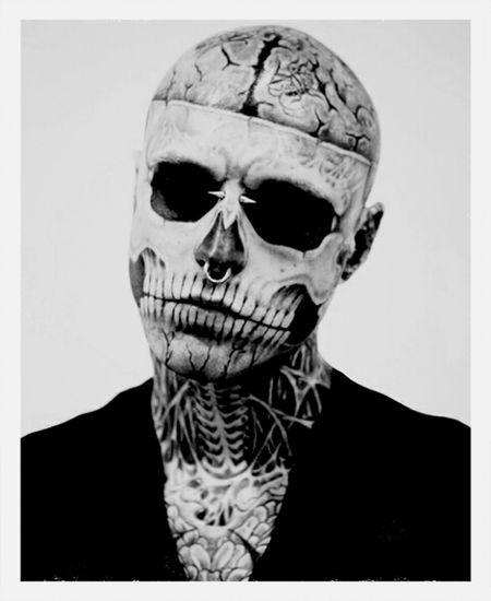 amazing body art Tattoomodels Zombieboy Tattoo Model