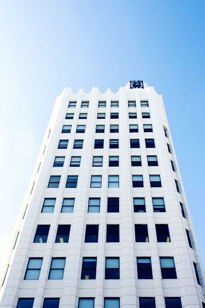 Low Angle View Building Exterior Clear Sky Architecture Skyscraper Built Structure Day Outdoors City No People Travel Destinations Sky Urban Skyline California