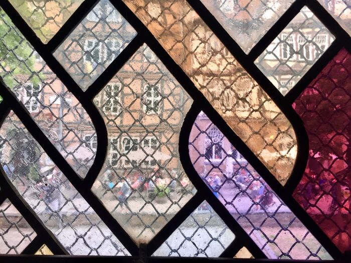 Architecture Pattern Window Indoors  Built Structure No People City Modern Close-up Day Glass - Material Church Glass Harz Architecture Goslar Multi Colored Backgrounds Full Frame