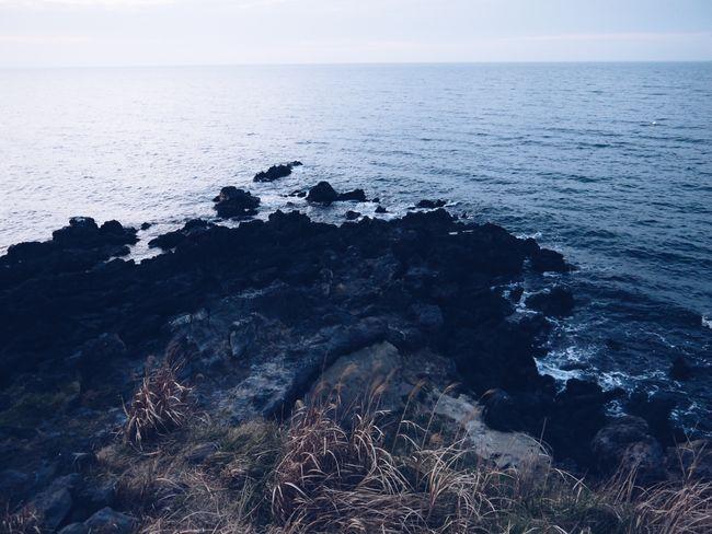 Sea Water Horizon Over Water Horizon Beauty In Nature Sky Scenics - Nature Rock