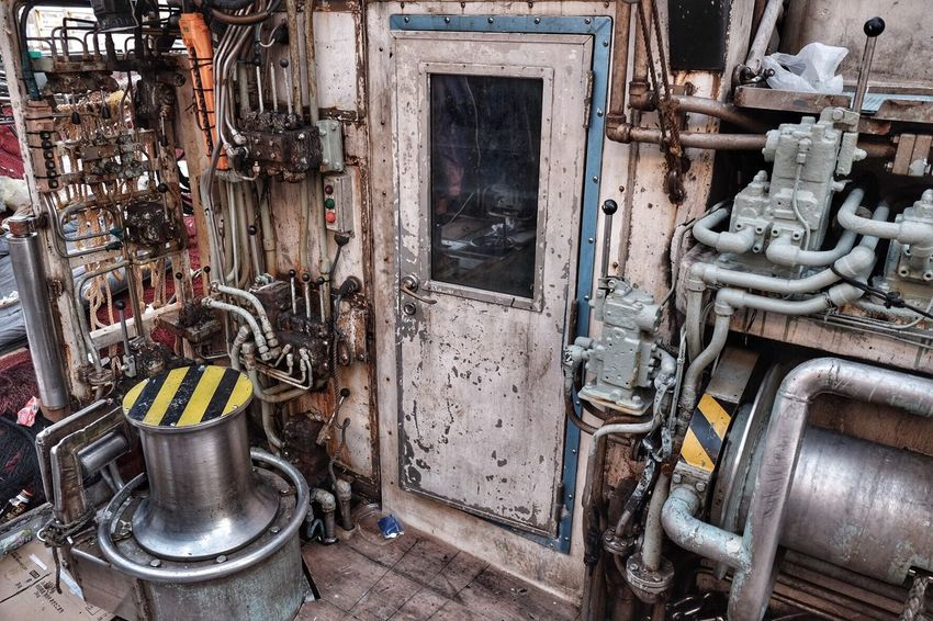 Close Up Technology Abandoned Obsolete Indoors  Day On The Ship LINE Eye4photography  Enjoying Life