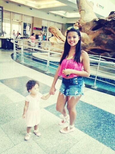 Tia ama!! Parque Dom Pedro .