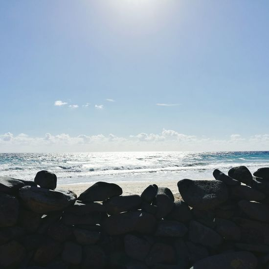 Sea Water Sunlight Beach Nature Day Outdoors Wave Sunbeam Sky Beauty In Nature No People