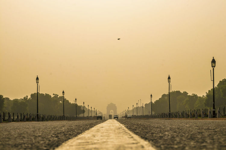 Indian heritage - India Gate King - Royal Person Sunset