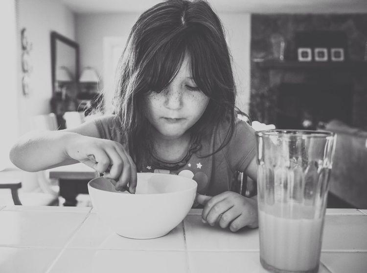 I love mornings. EyeEm Best Shots Black & White Morning Rituals Authentic Moments Everyday Lives Snapshots Of Life Meal Time