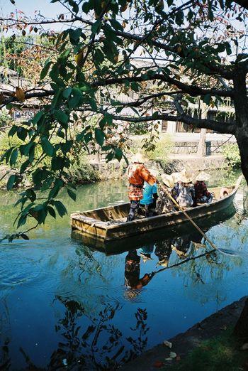 Travel Photography Kurashiki Japan Contax T3 Reflection Enjoying Life Relaxing Film 35mm Film Ultimate Japan