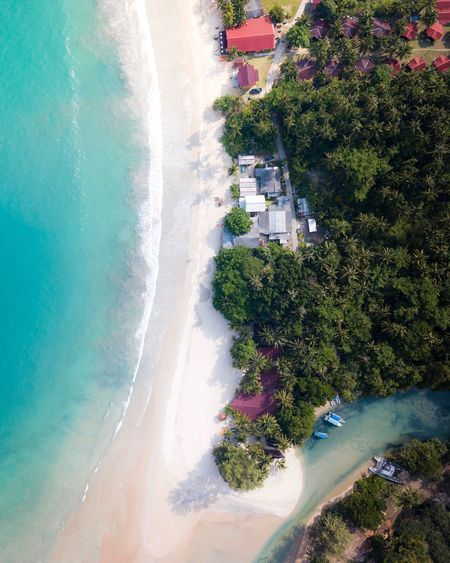 It's another perspective from above Tree Plant Water Nature Sea Land Building Exterior Day Architecture High Angle View Beauty In Nature Motion Beach Swimming Pool Outdoors Sunlight