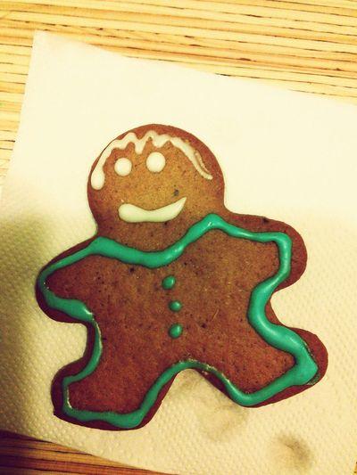 Рождественский человечек по вегану Vegan Happynewyear укроп печенька First Eyeem Photo