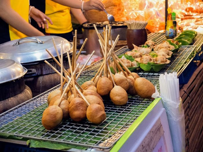 street food, thai style Chiangmai Walking Street Snacks! Snack Time! Food Thai Food Wallking Street Street Food Street Foods Thailand Chiang Mai   Thailand Chiangmai Thaistyle Walking Street Walking Street Chiangmai Sunday Market Market For Sale Retail  Close-up Food And Drink