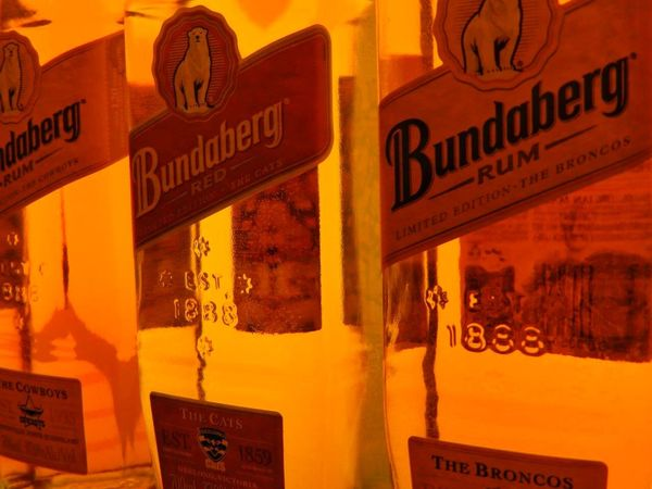 Queensland, Australia Australia Bottles Collection Bundaberg Rum No People Orange Pastellcolours Rum