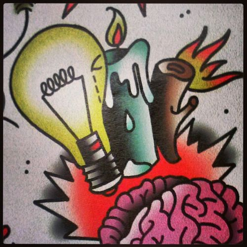 Makin moves! Its called Progress Doodle Drawing Newskool