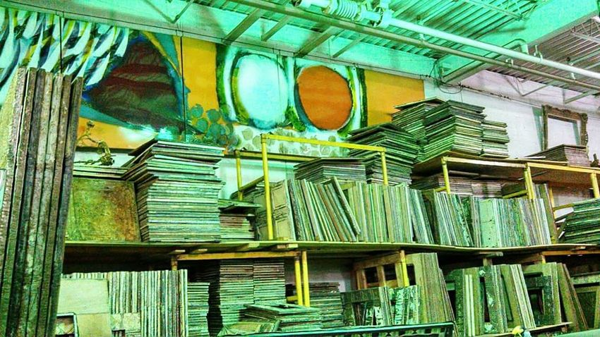 Showcase April Storage Room Abandoned Art Neon Green Designs And Lines Industrialbeauty Picture Frame Ye Old Things No People Beautifully Organized Manmadestructures Interior Architecture Adapted To The City The Secret Spaces Rethink Things