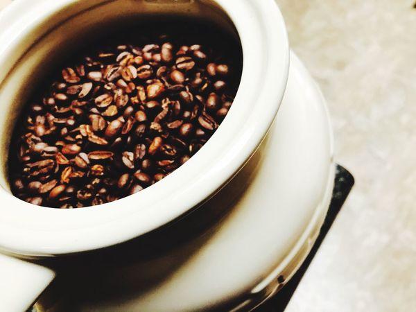 Coffee Coffee Jar Coffeebean Coffeebeans Close-up