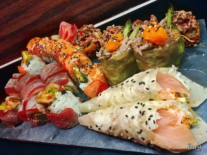 Food Food And Drink Ready-to-eat Freshness Plate Indoors  Serving Size Healthy Eating No People Sushi Close-up Temptation Day