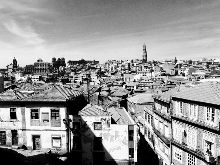 Porto Urban Blackandwhite Black And White Portugal Europe City Porto