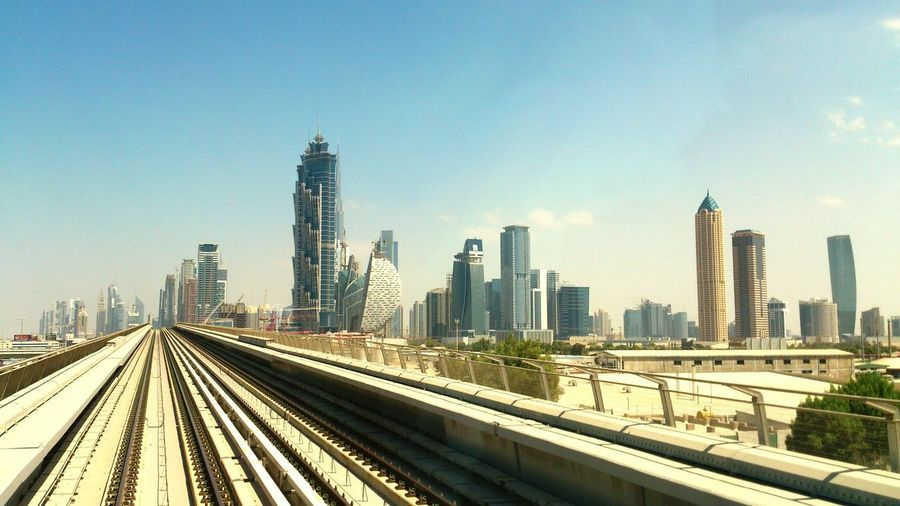 UAE Dubai Metro Subway