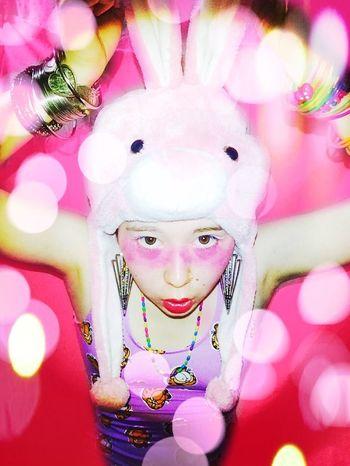 KANO Self Selfie Selfies Selfie ✌ Self Portrait Selfportrait Rabbit Pink Me