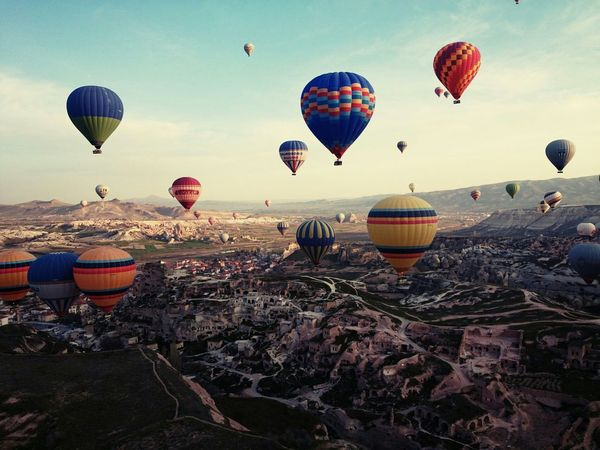 Desrt ballon Ballon Desert Sun Colors