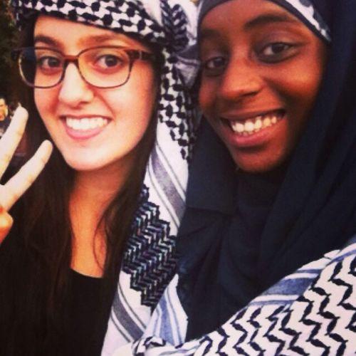 Manifestation avec la Friend Freegaza Palestine ❤️ Muslim