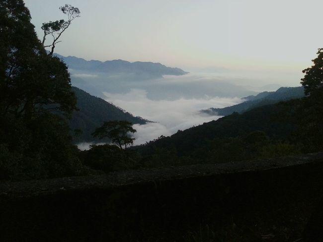 Cloud sea in Taiwan Cloud Cloud Sea (雲海) Taiwan Mountains