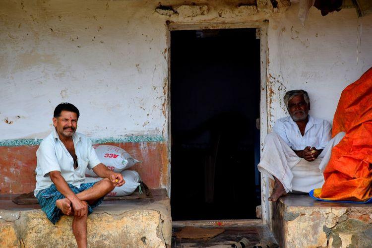 Belavadi village, karnataka, India Streetsofindia Outdoors Day Real People Cultures Tredition