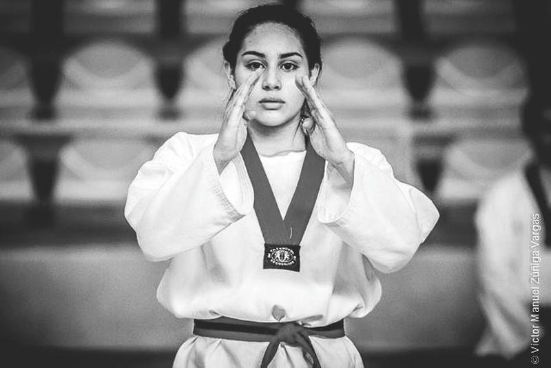Blackandwhite Blackbelt Taekwondo Sport