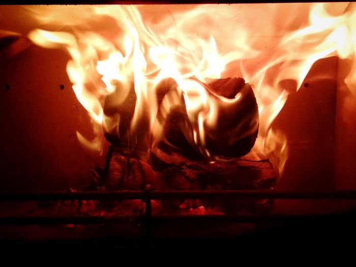 fire flames and