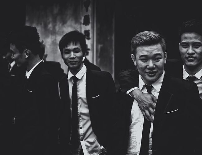 Young gang from Hanoi during graduation Black And White Black & White Black And White Photography Contrast People Street Photography The Street Photographer - 2016 EyeEm Awards Vietnam Boys Asian  Gangster The Portraitist - 2016 EyeEm Awards Monochrome Photography TakeoverContrast Welcome To Black The Street Photographer - 2017 EyeEm Awards The Portraitist - 2017 EyeEm Awards