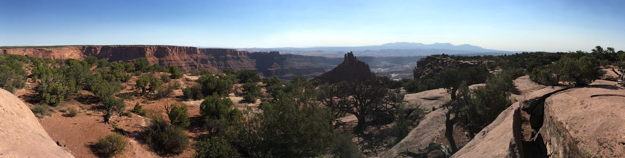 Panoramic View Of Dead Horse Point State Park Against Sky