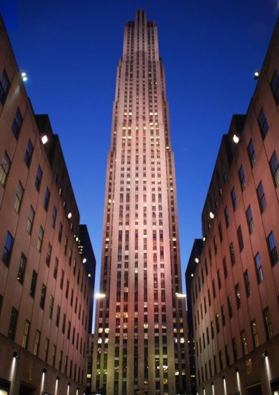 Newyork Rockefeller Center Amazing Architecture