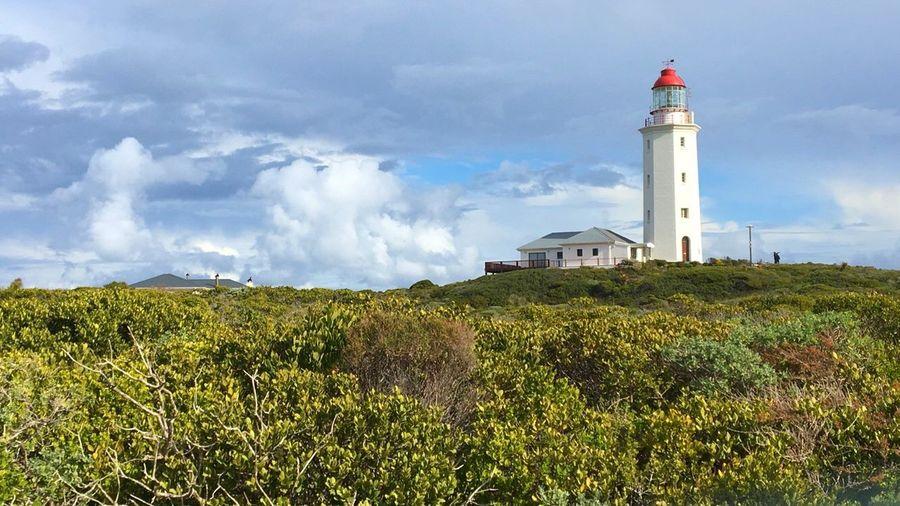 Lighthouse South Africa Gansbaai Hermanus Capetown Beauty In Nature Cloud - Sky Sky Ocean Ocean Photography Beauty Life Architecture Sharks Adventure First Eyeem Photo