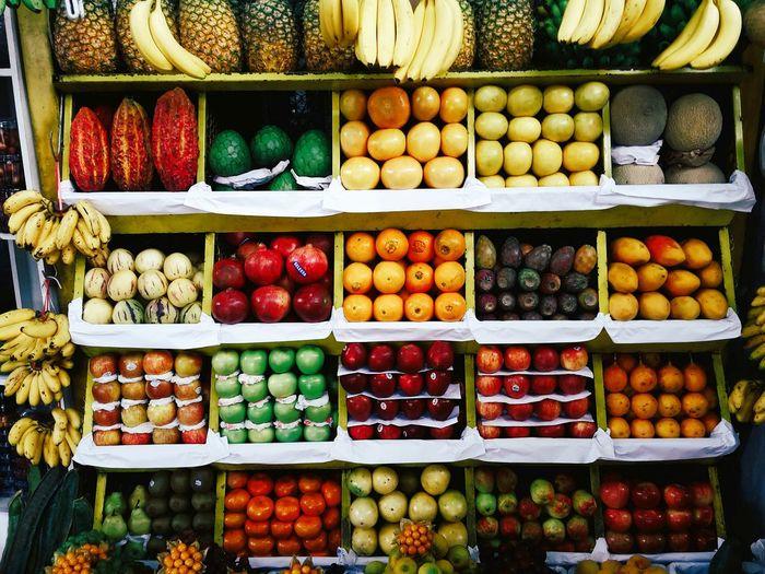 Fruity. Colour Of Life Fruits Market VSCO Lima Perú EyeEm
