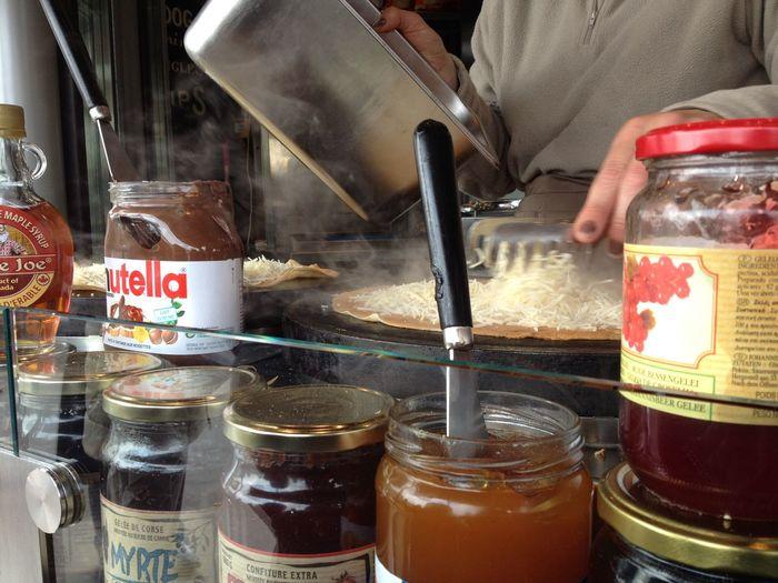 Food And Drink Food Cooking Jam Crape Crapecake Paris Shop Park